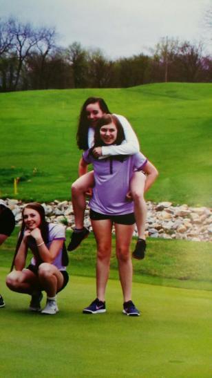 Bria golf team